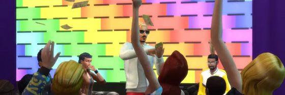 De Sims 4 Word Beroemd avatars van de SimGuru's