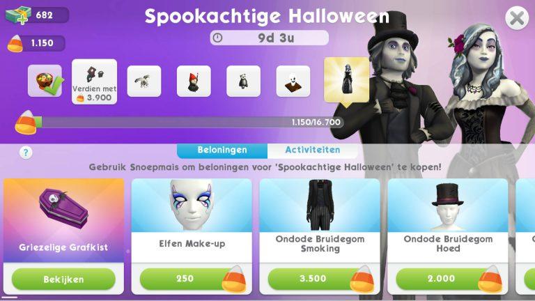 Spookachtige Halloween evenement