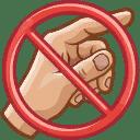 Niet aanraken!