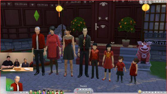 Chinees Nieuwjaar content komt naar De Sims 4