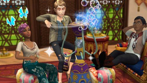 Wereld van Luxe-evenement begonnen in De Sims Mobile