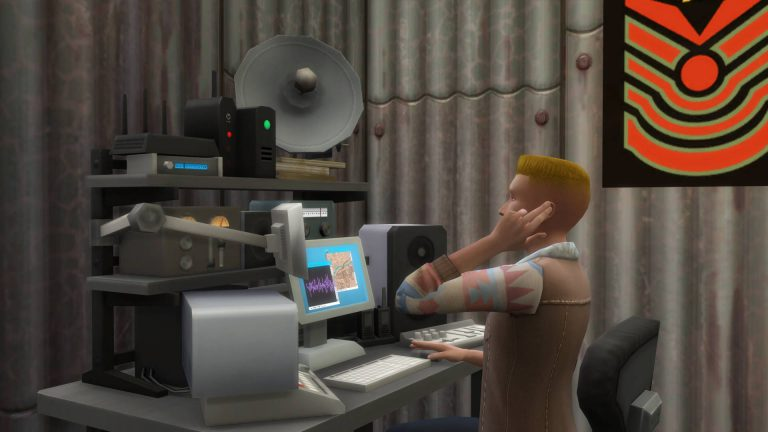 Sims afluisteren
