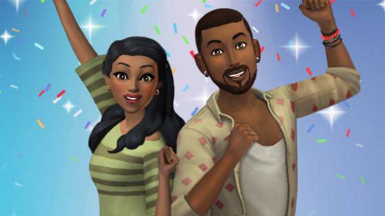 Verjaardagsfeest-evenement begonnen in De Sims Mobile