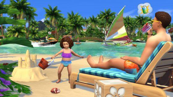 De Sims 4 Eiland Leven gelekt op Origin