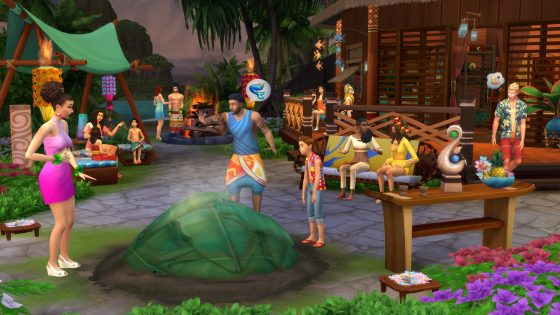 Meer informatie over De Sims 4 Eiland Leven via de EA Game Changers livestream