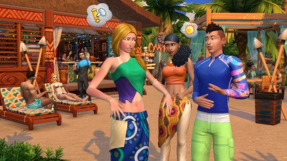 De Sims 4 Eiland Leven vanaf nu verkrijgbaar op de console