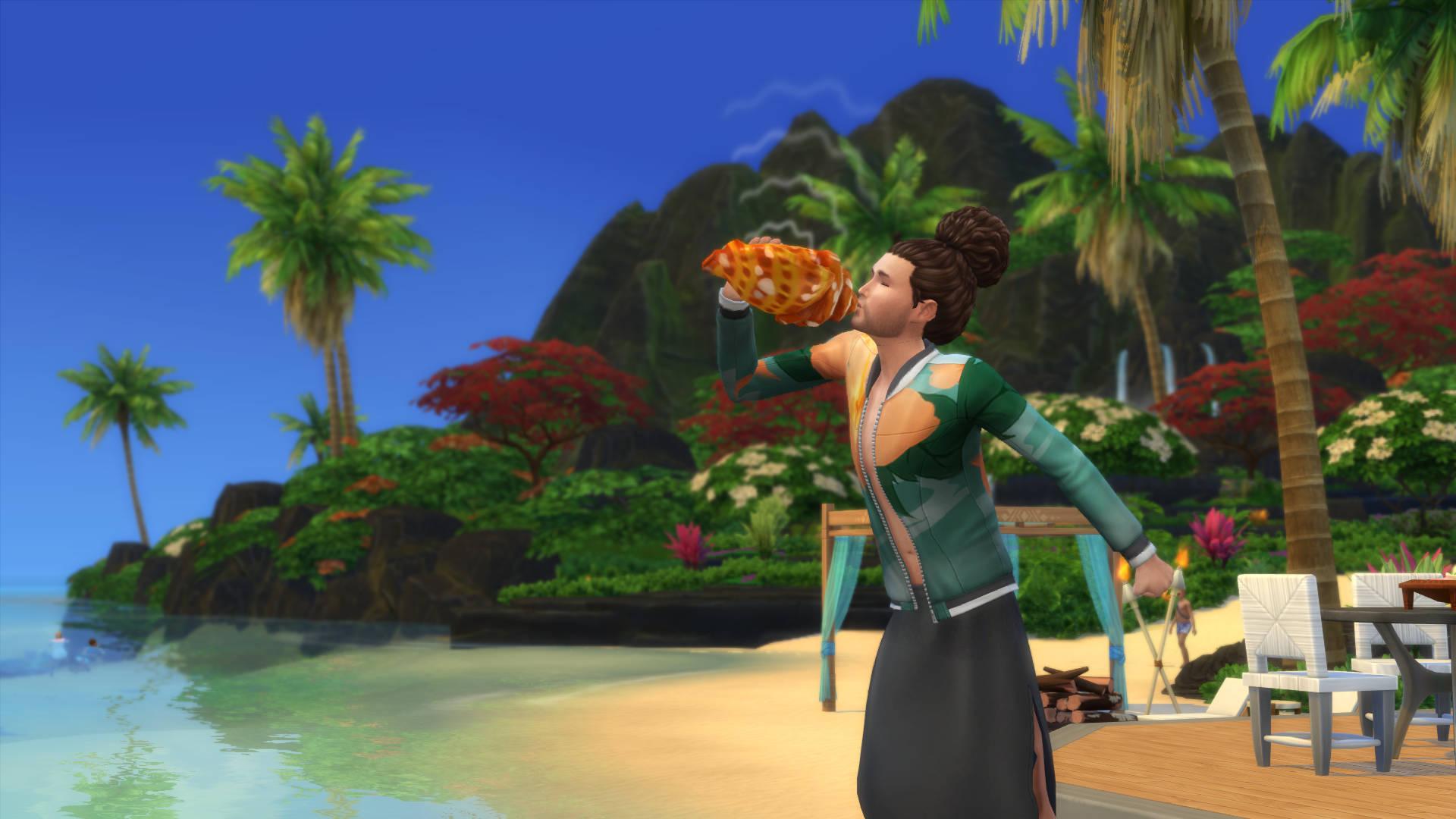 De Sims 4 Eiland Leven: Schelpen