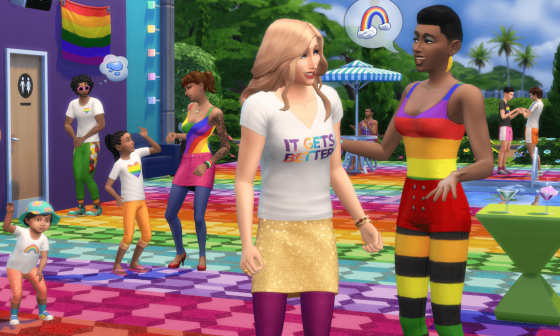 Community blog: De Sims x It Gets Better Project is binnen