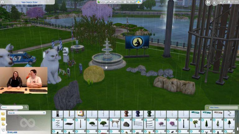 Wereld voorwerpen in bouwen in De Sims 4