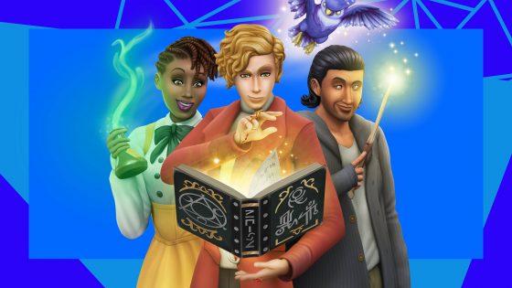 De Sims 4 Magisch Rijk assets