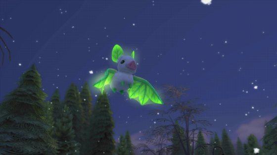 SimGuruHouts toont totemdier Leafbat uit De Sims 4 Magisch Rijk