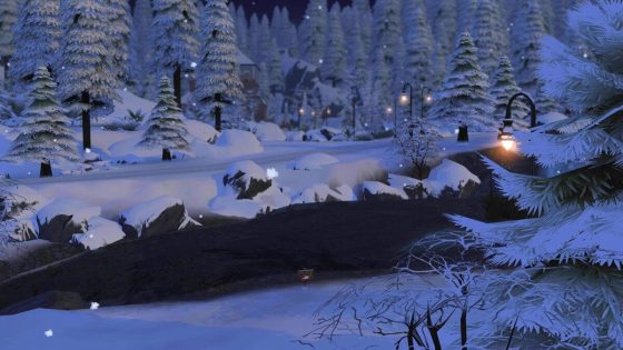 Video toont winter in Glimmerbrook