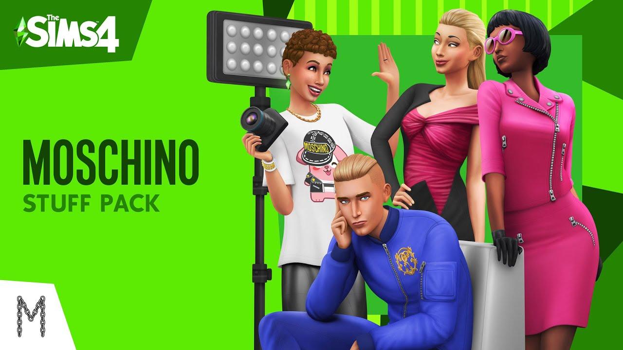 De Sims 4 Moschino