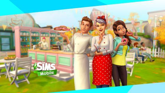 Zoete Hapjes Strijd-evenement begonnen in De Sims Mobile