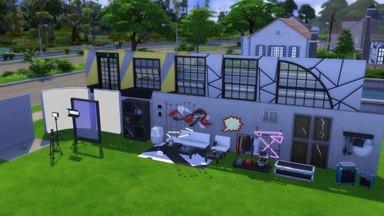 SN Review: De Sims 4 Moschino - Bouwen