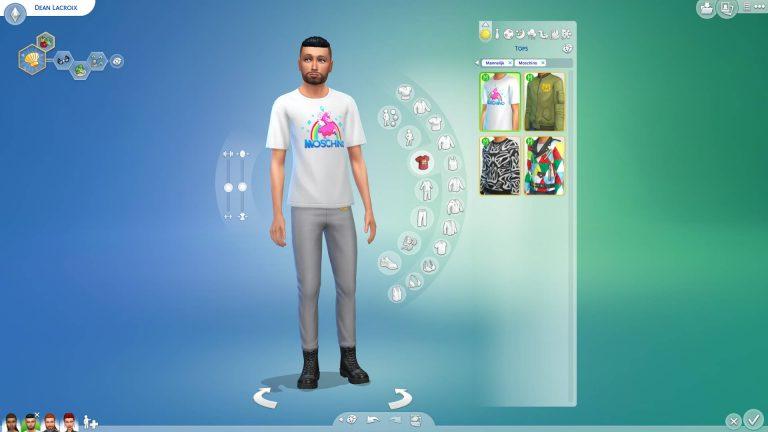 SN Review: De Sims 4 Moschino - Creëer-een-Sim