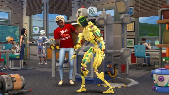 De Sims 4 Studentenleven avatars van SimGuru's
