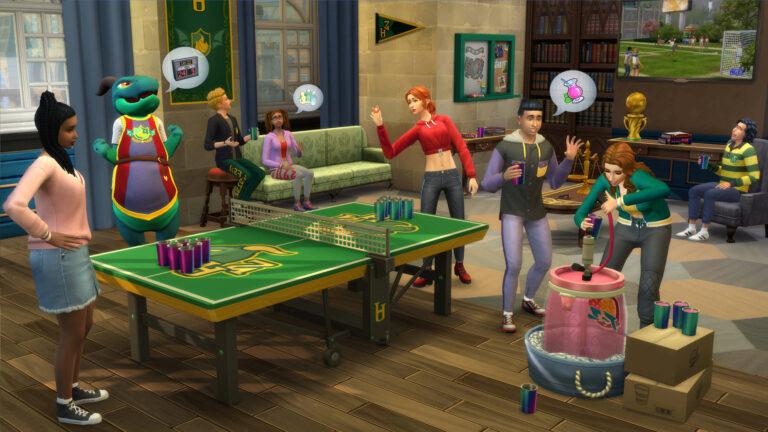 De Sims 4 Studentenleven