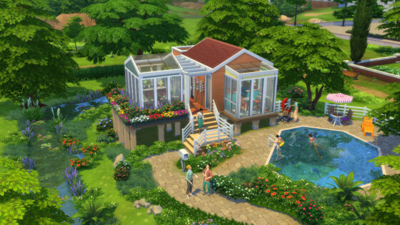 Herhaling De Sims 4 Klein Wonen livestream