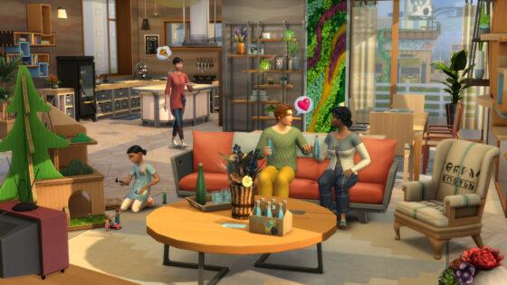 Officiële gameplaytrailer van De Sims 4 Ecologisch Leven