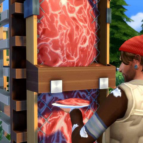 Nieuwe gif van De Sims 4 Ecologisch Leven gedeeld