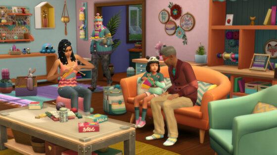 De Sims 4 Uitgebreid Breien aangekondigd