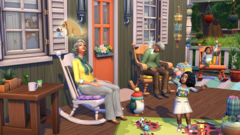 De Sims 4 Uitgebreid Breien