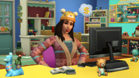 Herhaling De Sims 4 Uitgebreid Breien livestream