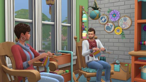 SN Review: De Sims 4 Uitgebreid Breien