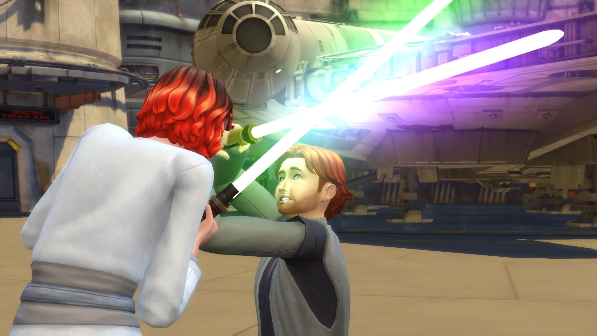 De Sims 4 Star Wars: Journey to Batuu