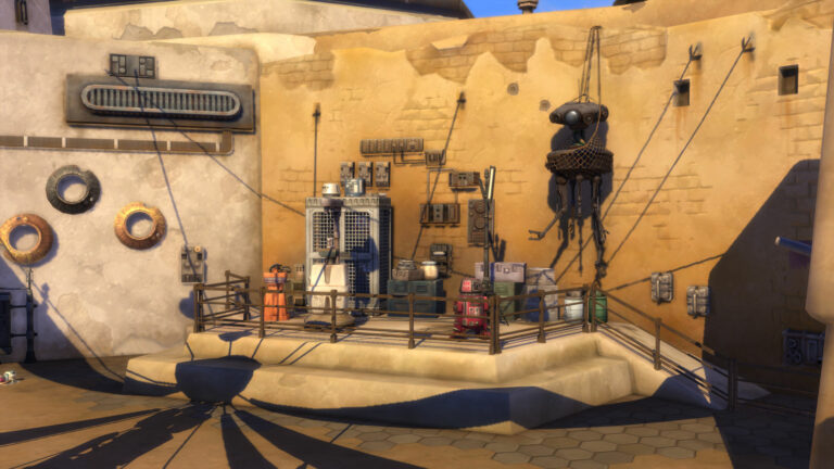 De Sims 4 Star Wars: Journey to Batuu