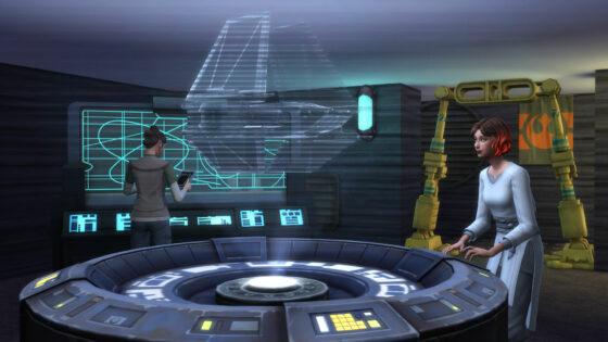 De Sims 4 Star Wars – Journey to Batuu collecties: Batuu-dossiers