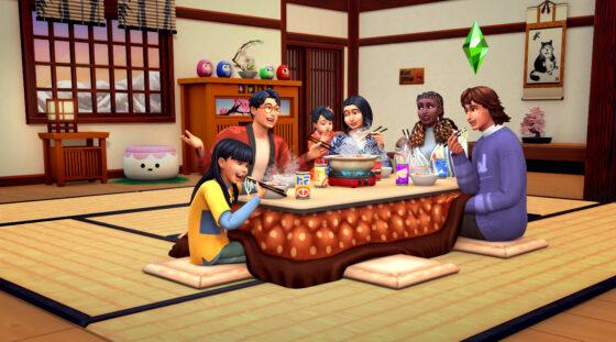 SimGuru's passen avatars aan op De Sims 4 Sneeuwpret