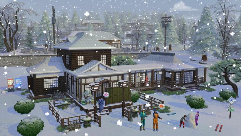De Sims 4 Sneeuwpret