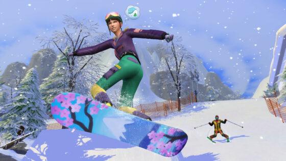 De Sims 4 Sneeuwpret vanaf vandaag verkrijgbaar