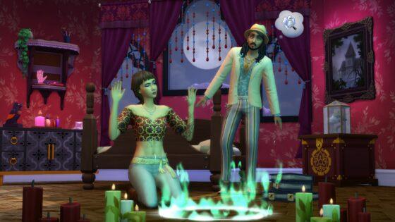 Herhaling van de De Sims 4 Paranormaal Accessoires livestream