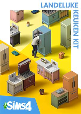De Sims 4 Landelijke Keuken