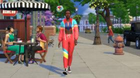 De Sims 4 Retro Outfit