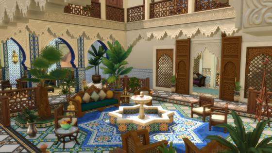 SN Review: De Sims 4 Binnenplaats Oase