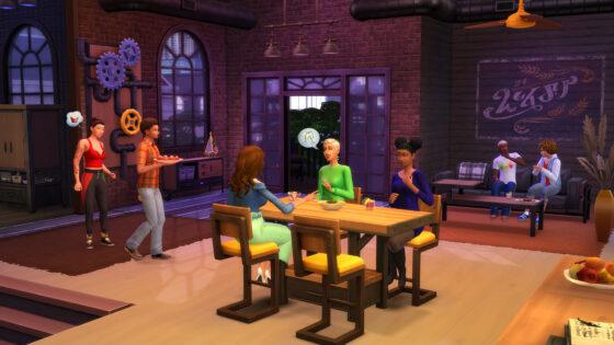 De Sims 4 Industriële Loft Kit